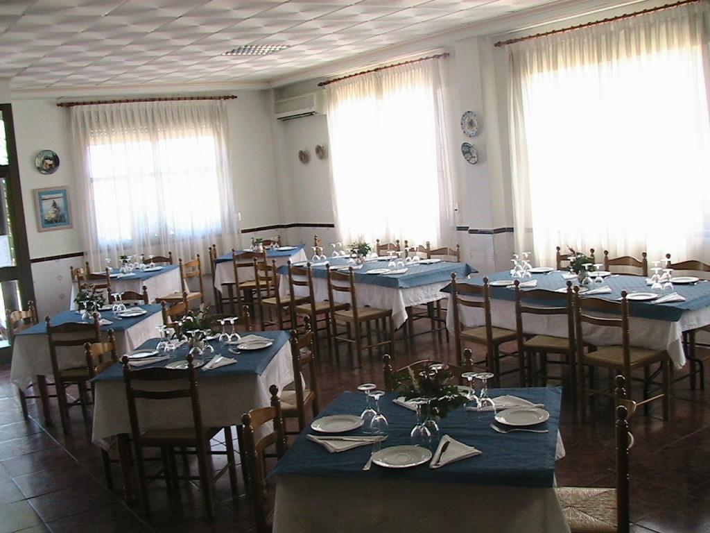 Comedor salón del Restaurante Casa Ángel