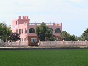 Vista exterior del Restaurante Casa Ángel