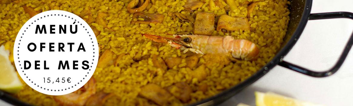 Paella valenciana, arroz meloso con Bogavante, arroz del senyoret;entre otros.