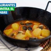 Acción contra el hambre. Restaurante Casa Ángel